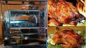 فر صنعتی مرغ بریان