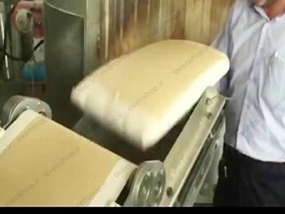 دستگاه پهن کن اتوماتیک خمیر لواش