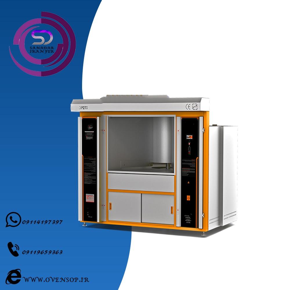 تولید دستگاه پخت نان صنعتی