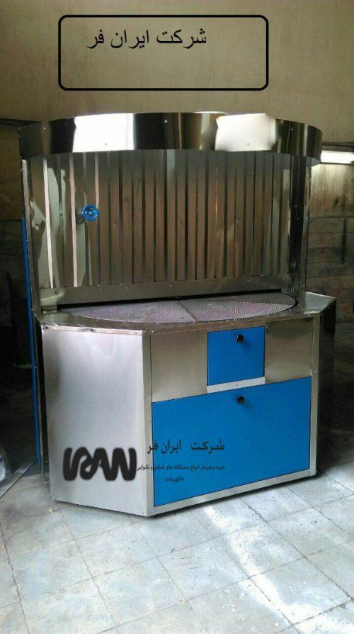 دستگاه فر صنعتی نان پزی