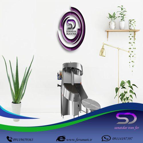 دستگاه دو و نیم متری دوار صنعتی