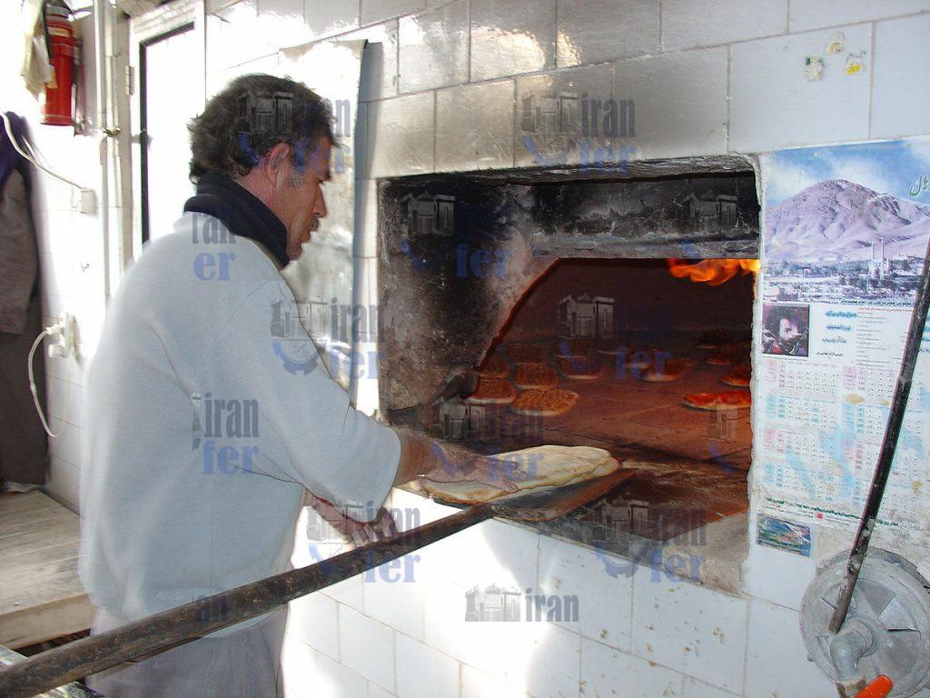 دستگاه پخت نان