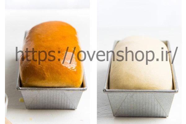 آموزش پخت نان تست